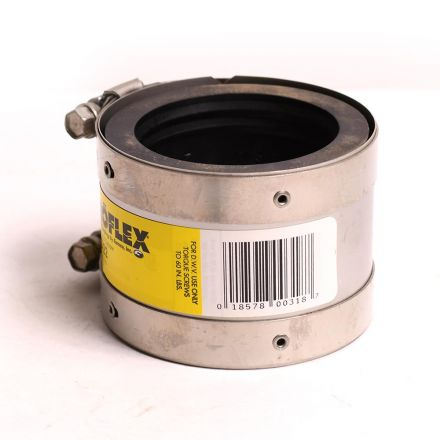 Thrifco Plumbing 6722808 2 Inch CPR x CPR No Hub Coupling