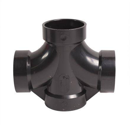 Thrifco Plumbing 6792186 92186 2 Inch ABS DOUB SAN TEE