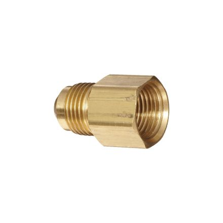 Thrifco Plumbing 6936063 1/2 Inch Male x 3/8 Inch Female Brass Flare
