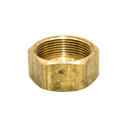 Thrifco Plumbing 6961003 61 1/4 Inch Lead-Free Brass Compression Nut