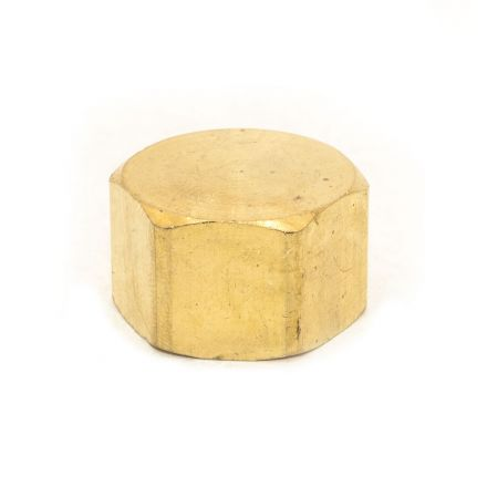 Thrifco Plumbing 6961012 61CX 3/8 Inch Lead-Free Brass Compression Cap