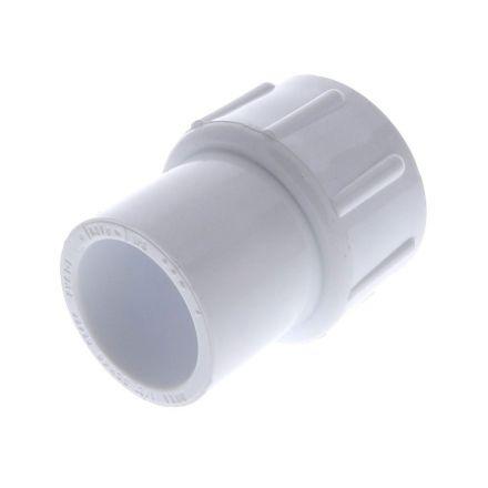 Thrifco Plumbing 8113050 3/4 Inch Slip x 1/2 Inch Female Thread PVC Adapter SCH 40