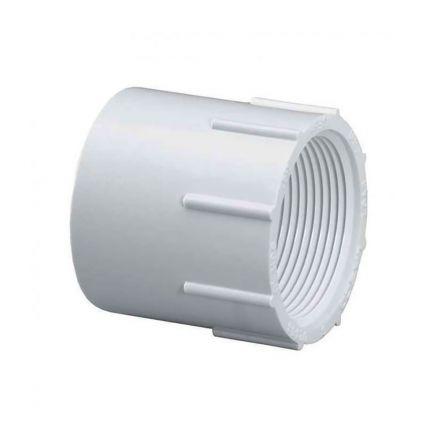 Thrifco Plumbing 8113062 1-1/4 Inch Slip x Female Thread PVC Adapter SCH 40