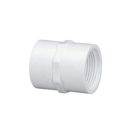 Thrifco Plumbing 8113066 1-1/2 Inch Slip x Female Thread PVC Adapter SCH 40