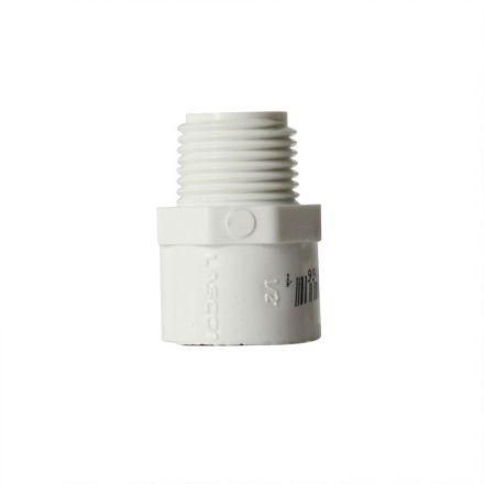 Thrifco Plumbing 8113166 1/2 Inch Male Thread x Slip PVC Adapter SCH 40