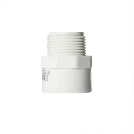 Thrifco Plumbing 8113178 1 Inch Male Thread x Slip PVC Adapter SCH 40