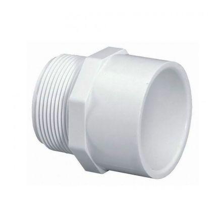Thrifco Plumbing 8113182 1 Inch Male Thread x 3/4 Inch Slip PVC Adapter SCH 40