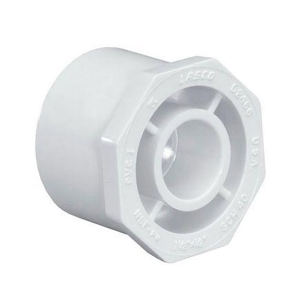 Thrifco Plumbing 8113310 1 Inch x 3/4 Inch Slip x Slip PVC Bushing / Reducer SCH 40