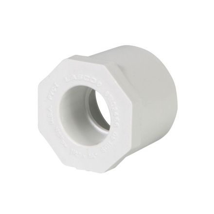 Thrifco Plumbing 8113356 3 Inch x 2 Inch Slip x Slip PVC Bushing SCH 40