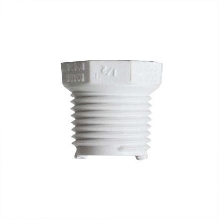 Thrifco Plumbing 8113550 1/2 Inch x 3/8 Inch Threaded x Threaded PVC Bushing SCH 40