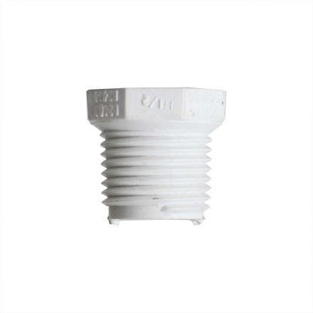 Thrifco Plumbing 8113552 1/2 Inch x 1/4 Inch Threaded x Threaded PVC Bushing SCH 40
