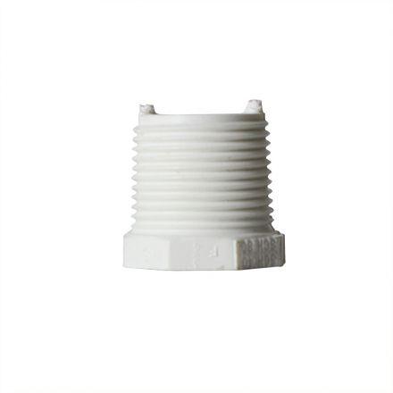 Thrifco Plumbing 8113560 3/4 Inch x 3/8 Inch Threaded x Threaded PVC Bushing SCH 40