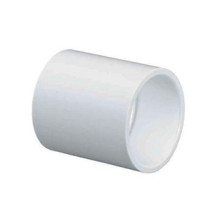 Thrifco Plumbing 8113766 2 Inch Slip x Slip PVC Coupling SCH 40