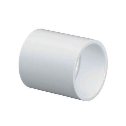 Thrifco Plumbing 8113770 2-1/2 Inch x 2-1/2 Inch Slip x Slip PVC Coupling SCH 40