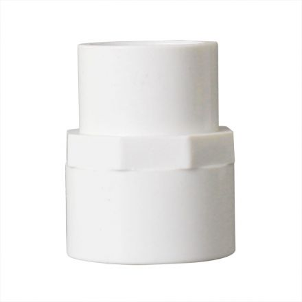 Thrifco Plumbing 8113780 3/4 Inch x 1/2 Inch Slip x Slip PVC Coupling SCH 40
