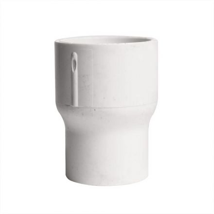 Thrifco Plumbing 8113781 1 Inch x 3/4 Inch Slip x Slip PVC Coupling SCH 40