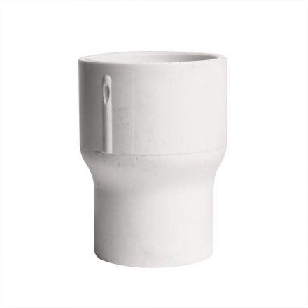Thrifco Plumbing 8113782 1-1/4 Inch x 1 Inch Slip x Slip PVC Coupling SCH 40