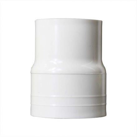 Thrifco Plumbing 8113783 1-1/2 Inch x 1-1/4 Inch Slip x Slip PVC Coupling SCH 40