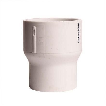 Thrifco Plumbing 8113784 2 Inch x 1-1/2 Inch Slip x Slip PVC Coupling SCH 40