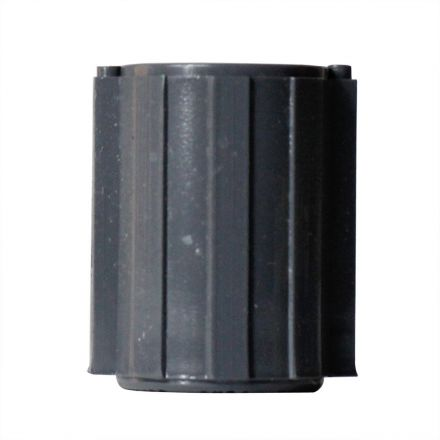 Thrifco Plumbing 8113794 1/2 Inch Threaded x Threaded Gray PVC Coupling SCH 40