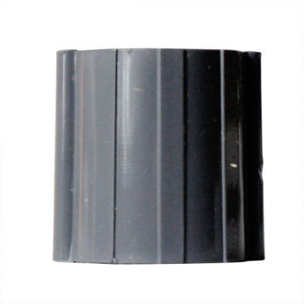 Thrifco Plumbing 8113796 3/4 Inch Threaded x Threaded Gray PVC Coupling SCH 40