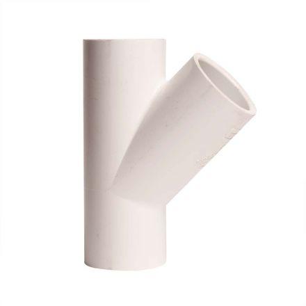 Thrifco Plumbing 8113944 1 Inch Slip x Slip x Slip PVC Wye SCH 40
