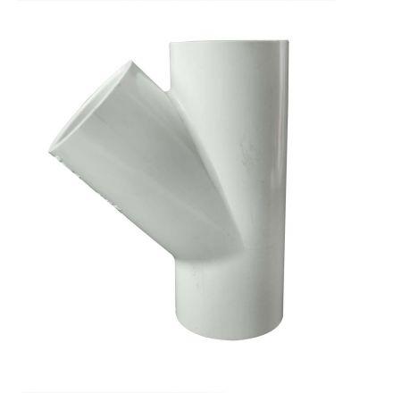 Thrifco Plumbing 8113945 1-1/4 Inch Slip x Slip x Slip PVC Wye SCH 40
