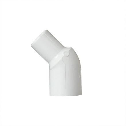 Thrifco Plumbing 8114052 1/2 Inch Slip x Slip PVC 45 Degree Street Elbow SCH 40