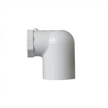 Thrifco Plumbing 8114072 1 Inch x 1/2 Inch Slip x Slip PVC 90 Degree Elbow SCH 40