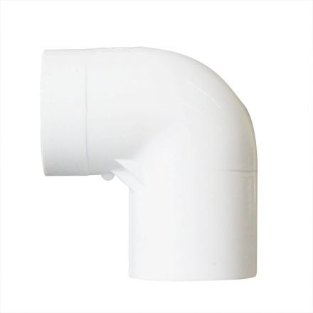 Thrifco Plumbing 8114120 1/2 Inch Slip x Threaded PVC 90 Degree Elbow SCH 40
