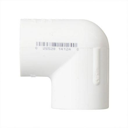 Thrifco Plumbing 8114124 3/4 Inch Slip x Threaded PVC 90 Degree Elbow SCH 40
