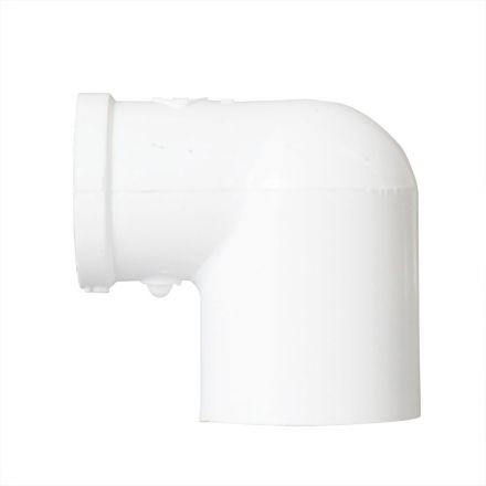 Thrifco Plumbing 8114126 3/4 Inch x 1/2 Inch Slip x Threaded PVC 90 Degree Elbow SCH 40