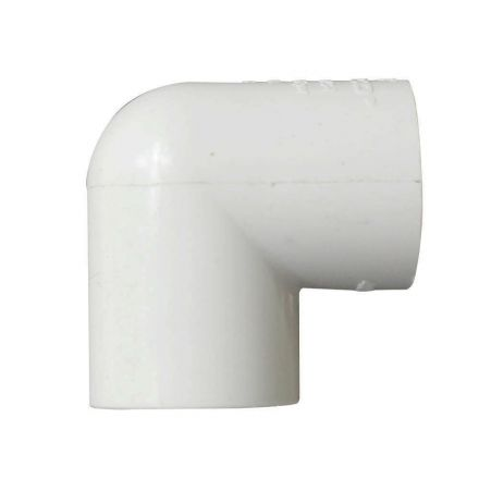 Thrifco Plumbing 8114130 1 Inch x 3/4 Inch Slip x Threaded PVC 90 Degree Elbow SCH 40