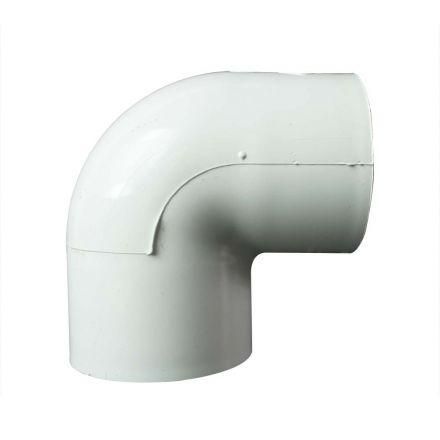 Thrifco Plumbing 8114146 2 Inch Slip x Threaded PVC 90 Elbow SCH 40