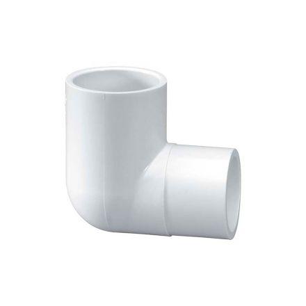 Thrifco Plumbing 8114232 1/2 Inch Spigot x Slip PVC Street Elbow SCH 40