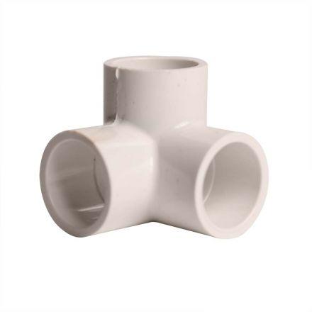 Thrifco Plumbing 8114267 3/4 Inch Slip x Slip x Slip PVC Side Outlet Elbow SCH 40