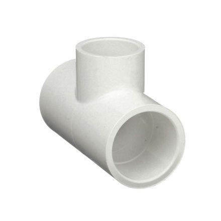 Thrifco Plumbing 8114532 3/4 Inch Slip x 1/2 Inch Slip PVC Tee SCH 40