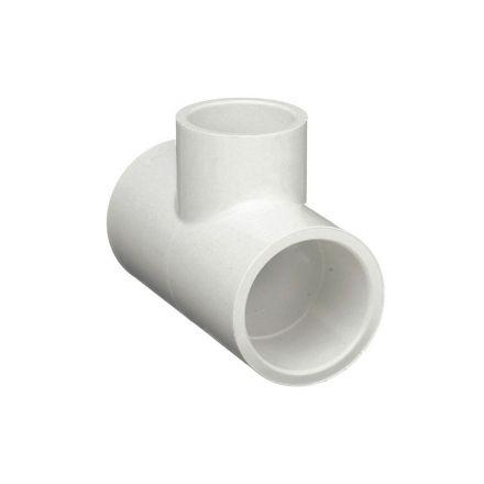Thrifco Plumbing 8114544 1 Inch Slip x 3/4 Inch Slip PVC Tee SCH 40