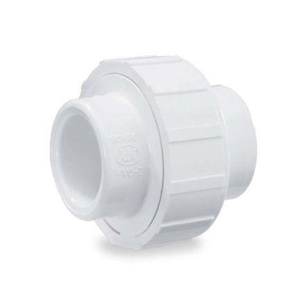 Thrifco Plumbing 8114968 1 Inch Slip x Slip PVC Union SCH 40