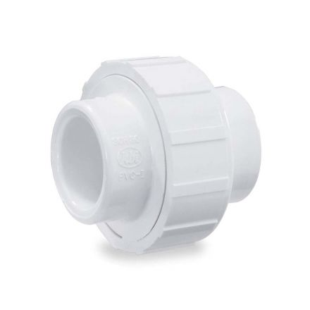 Thrifco Plumbing 8114974 2 Inch Slip x Slip PVC Union SCH 40