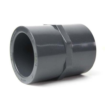 Thrifco Plumbing 8213062 1-1/4 Inch Slip x Threaded PVC Female Adapter SCH 80