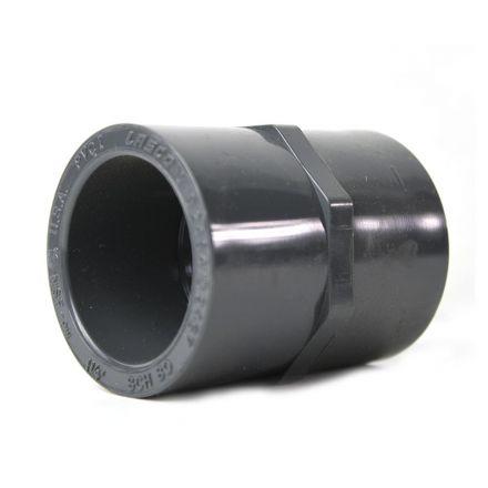 Thrifco Plumbing 8213758 1-1/4 Inch Slip x Slip PVC Coupling SCH 80