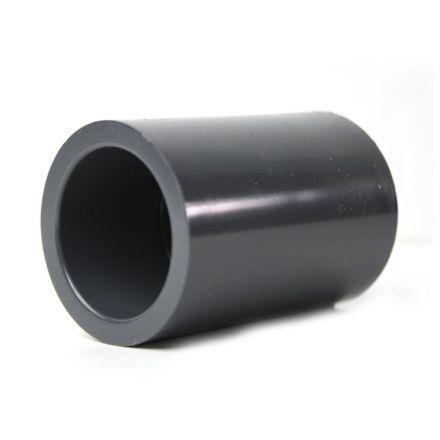 Thrifco Plumbing 8213762 1-1/2 Inch Slip x Slip PVC Coupling SCH 80