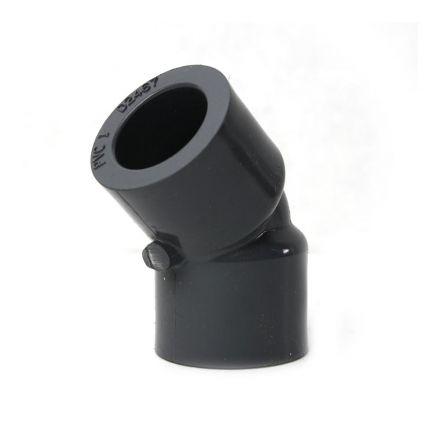 Thrifco Plumbing 8214022 1/2 Inch Slip x Slip PVC 45 Elbow SCH 80