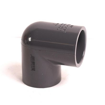 Thrifco Plumbing 8214068 1 Inch Slip x Slip PVC 90 Elbow SCH 80