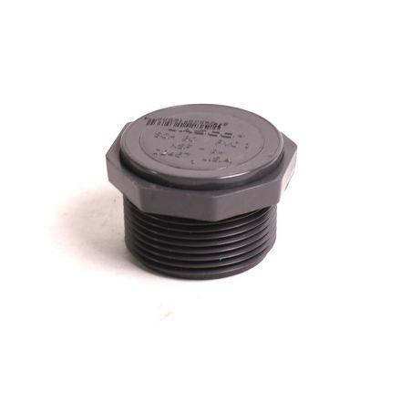 Thrifco Plumbing 8214316 3/4 Inch Threaded PVC Plug SCH 80