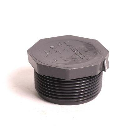 Thrifco Plumbing 8214322 1-1/2 Inch Threaded PVC Plug SCH 80