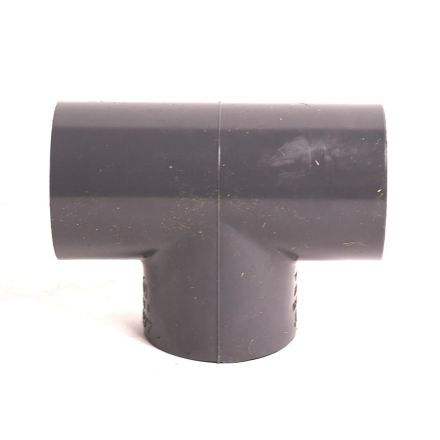 Thrifco Plumbing 8214538 1 Inch Slip x Slip x Slip PVC Tee SCH 80