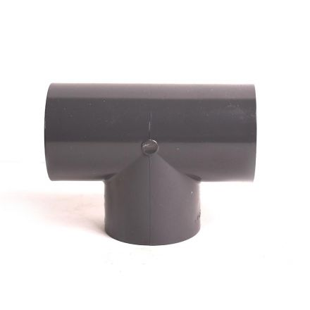 Thrifco Plumbing 8214586 1-1/2 Inch Slip x Slip x Slip PVC Tee SCH 80