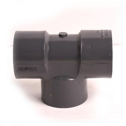 Thrifco Plumbing 8214944 1-1/4 Inch Threaded x Threaded x Threaded PVC Tee SCH 80